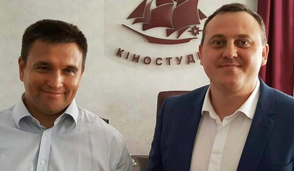 Міністр Закордонних справ України Павло Клімкін відвідав Одеську кіностудію