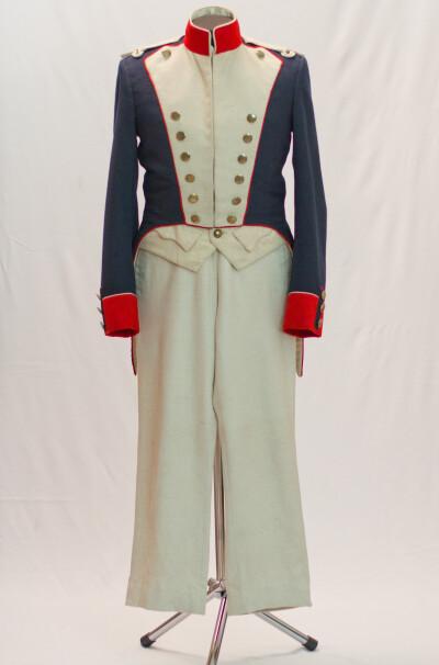 Костюм військовий мужской. Франція 1812