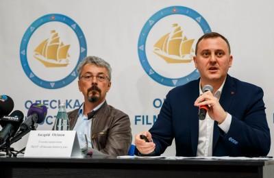 """Прес-конференція на тему: """"Результати соцопитування одеситів щодо шляхів розвитку Одеської кіностудії"""""""