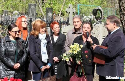 В рамках проекту «Пантеон Одеси» відбулося відкриття пам'ятника літописцю міста Олександру Дерібасу