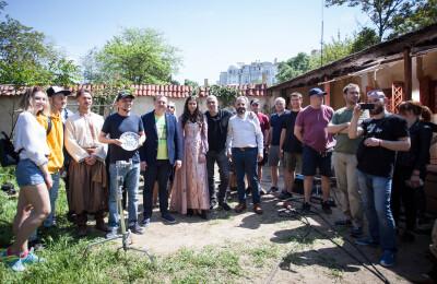 Завершено роботу над фільмом, що вийде у прокат під назвою «Фортеця Хаджибей» (реж. Костянтин Коновалов)