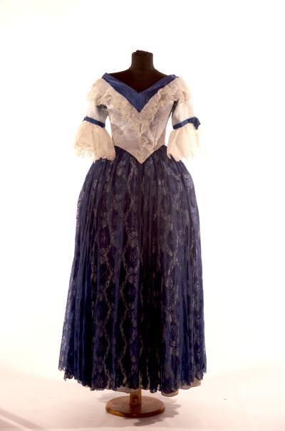 Сукня жіноча, періоду бароко, початок 18 століття.