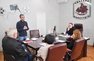 Перше зібрання Опікунської ради Молодіжного центру кінематографістів