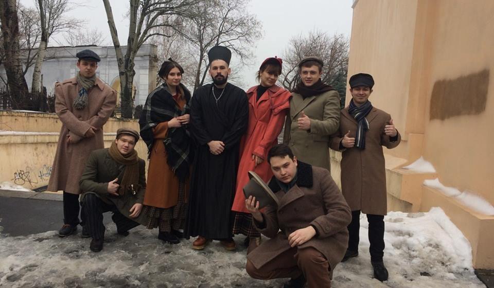 На Одеській кіностудії знімають історичний фільм